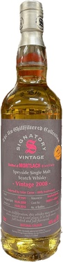 Whisky Ecosse Speyside Mortlach 2008 Bourbon Barrel Exclu.inter Caves 46% 70cl